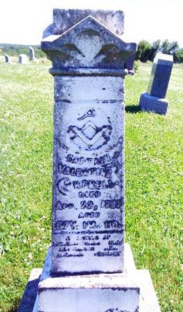 Valentine Korell Odd Fellows gravestone