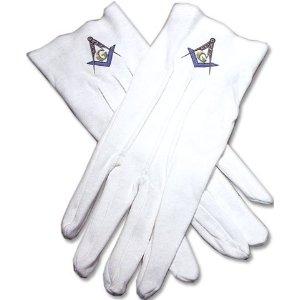 Masonic gloves