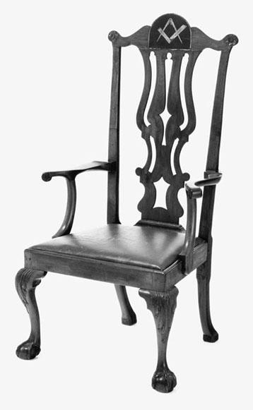 Masonic Chair