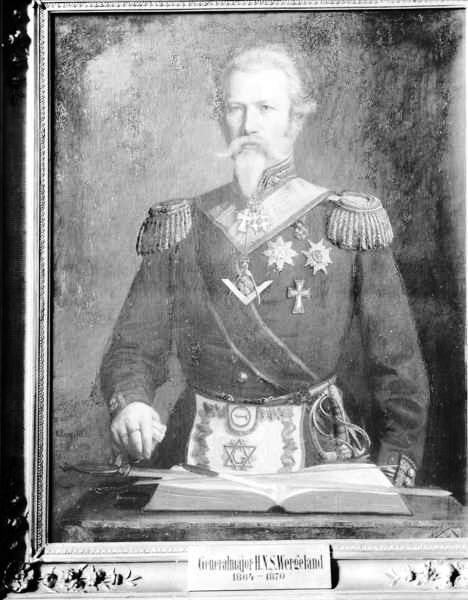 General Major Harald Nicolai Storm Wergeland (1814-1893)