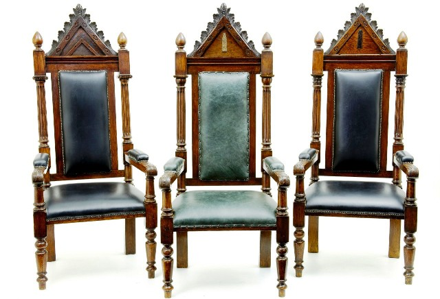 Antique Masonic Chairs