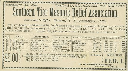 Southern Tier Masonic Relief Association