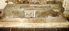 Rosslyn Chapel - Knight Templar Tomb