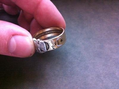 Antique Scottish Rite ring