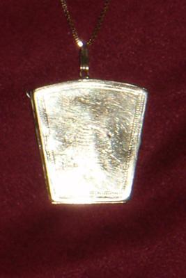 Masonic Locket Front