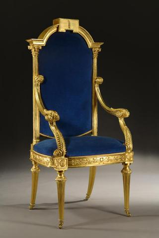 Junior Warden's Chair - United Grand Lodge of England