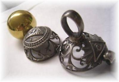 Masonic Orb Pendant - Fully Open