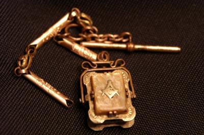 Masonic fob