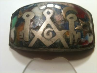 Masonic Mosaic Jewelry