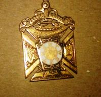 Gold Masonic Pendant