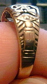 My Fathers Masonic Ring 3