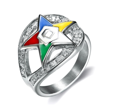 OES silver color ring