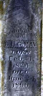 Old Masonic headstone