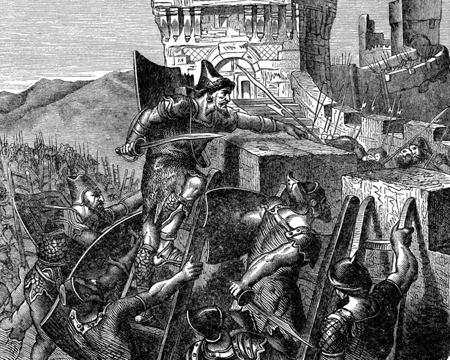 Siege of Tyre by the Babylonians