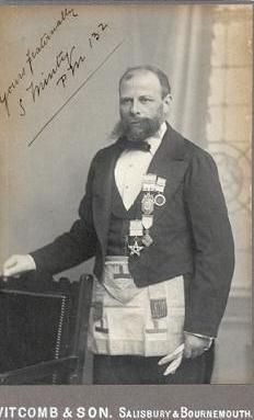 old masonic photo