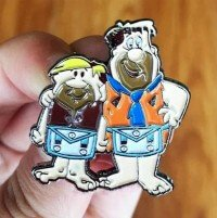 Masonic Flintstones Lapel Pin