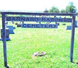 Barnard Masonic Cemetery Sign