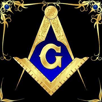square and compasses emblem