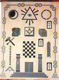 Masonic trestle board a design blueprint for master masons masonic tracing board trestle board pronofoot35fo Images