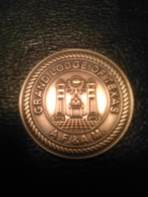 Grand Lodge of Texas A.F. & A.M. Medallion Seal