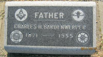 Charles H. Bardenwerper's headstone