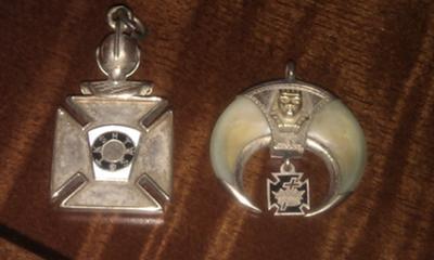 Knights Templar and Shrine Pendants