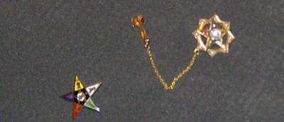 Eastern Star Pins